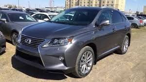 lexus awd technology new grey on black 2015 lexus rx 350 awd technology package