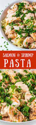Pasta Recipes by Salmon U0026 Shrimp Pasta Thefitblog