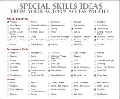 Software Skills For Resume Special Skills For Resume 28 Images Special Skills For Resume