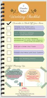 wedding planning list 3 months before wedding planning checklist visual ly