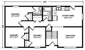split ranch floor plans raised ranch floor plan gurus floor