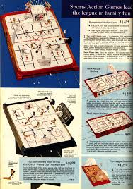 1974 sears christmas wish book munro games table hockey and
