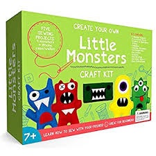 kid craft kits craftster s sewing kits monsters beginners sewing