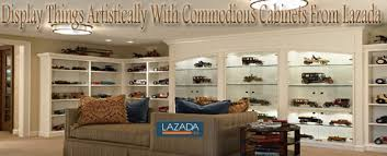 home dek decor display things artistically with commodious cabinets from
