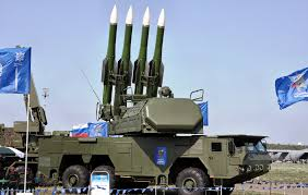 Russia Equipped Six Military Bases by Russian Surface To Air Sam Missile System Buk Sa 6