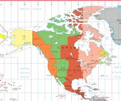 Where Is Puerto Rico On A Map by Atlantic Time Zone Wikipedia