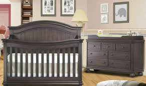 Dark Wood Nursery Furniture Sets by Dark Wood Crib Full Size Of Tablerustic Convertible Crib