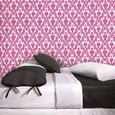 Temp Wallpaper by Temporary Wallpaper Pink Damsel U2013 Dormify