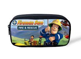 3d cartoon pencil cases fireman sam robocar poli pencilcase