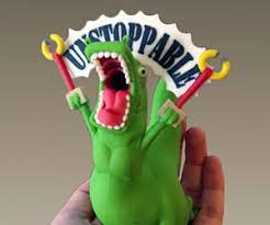 Unstoppable Dinosaur Meme - t rex figurine
