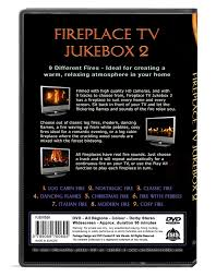 fire dvd fireplace tv jukebox 2 choose out of 9 modern fires
