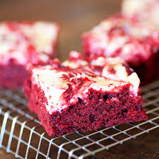 red velvet cheesecake brownies food fanatic