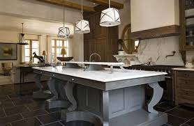Restaurant Kitchen Lighting Transitional Kitchen Islands Asbienestar Co