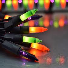orange green purple string lights 50 lights