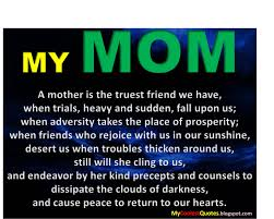Love A Child Quotes by Mother Quote Mom Daughter My Coolest Quotes My Mom Is The