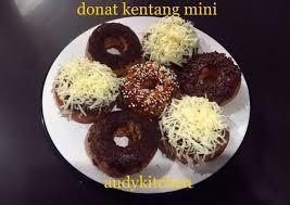 buat donat kentang mini resep donat kentang mini oleh audykitchen cookpad