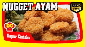 membuat nugget ayam pakai tepung terigu resep cara membuat nugget ayam enak how to make a delicious chicken