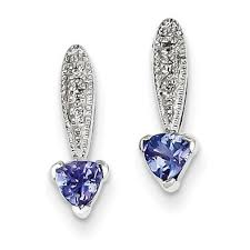 tanzanite earrings cheap tanzanite earrings studs find tanzanite earrings studs