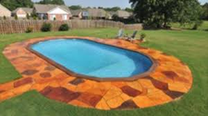 Backyard Above Ground Pool by Doughboy Provides Homeowners The Only Above Ground Swimming Pool