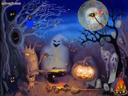 animated halloween wallpaper wallpapersafari