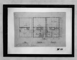 Ground Floor And First Floor Plan by From The Harvard Art Museums U0027 Collections Housing Development