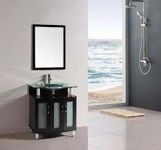 Espresso Bathroom Storage Michael 30 Inch Freestanding Modern Espresso Bathroom Vanity W