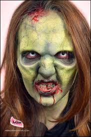 the airbrush makeup guru how to airbrush a zombie makeup easy