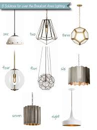 Stylish Pendant Lights 8 Stylish Pendant Lighting Solutions For A Cozy Breakfast Area
