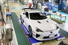 lexus lfa toy car lexus admits 12 new lfas in u s dealerships exist