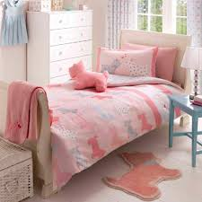 scottie westie dog pink gingham ed sheet duvet quilt cover rug bedding set