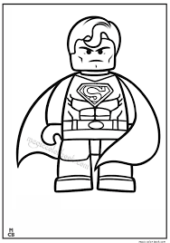 coloring book pages superman superman running chase train