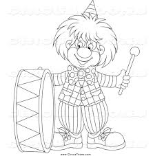 royalty free stock circus designs of printable coloring pages