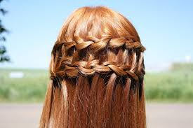 braid hair styles pictures beautiful cascade waterfall braid hairstyles gallery hairstyles