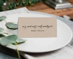 14 wedding place card templates editable psd ai format