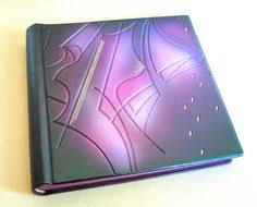 Monogrammed Photo Albums Monogrammed Wedding Album Leather Wedding Photo Albums And