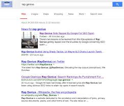 google punishes rap genius for manipulative seo tactics latimes