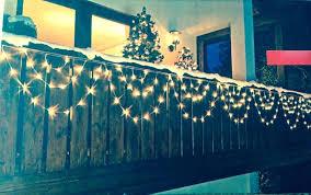 lichterkette fã r balkon weihnachtsbeleuchtung fur balkonkasten led lichterkette