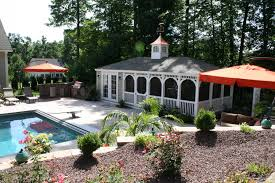 backyard designs with pool and outdoor kitchen 7 hottest pool house trends kloter farms blog