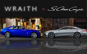 roll royce sport car topspeed design showdown 2014 rolls royce wraith vs 2013 s class