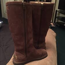 ugg s kaleen boot 70 ugg shoes brown ugg boots with zipper from s