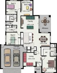 family floor plans would be ideal for a dual family or multigenerational home with