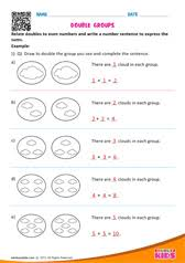 math addition with fingers worksheets for kids