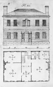 federal style home plans pictures historic colonial house plans the architectural