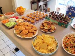 idaes of baby shower party food baby shower diy
