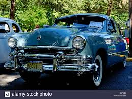 1951 ford at a classic car show in belvidere new jersey usa