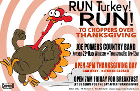 joe powers county band thanksgiving nov 22 at