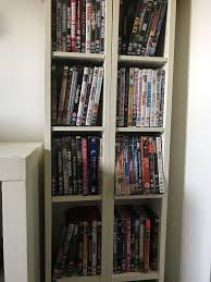 white shelves dvd racks in barry vale of glamorgan gumtree