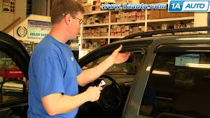 Glass Door Weatherstripping by How To Install Replace Rubber Weatherstrip Seal Door Jeep Grand