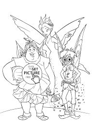 fairies scene coloring pages for kids printable free coloing