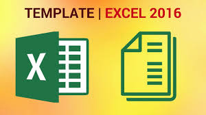 Create A Template In Excel How To Create A Template In Excel 2016